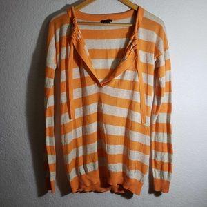 Theory Riviera Striped Sweater